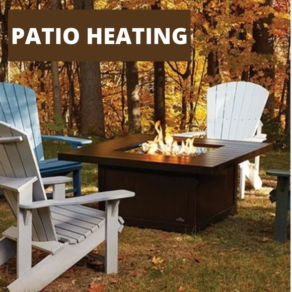 Fire Pits, Patio Heaters and Accessories