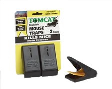 Plastic Snap Trap- Mouse- 2pk