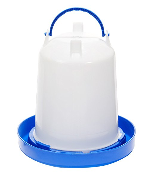 Double Tuf Plastic Poultry Waterer (Assorted Sizes Available)