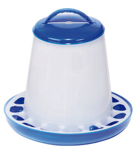 Double Tuf Plastic Poultry Feeder (Assorted Sizes Available)