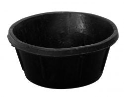 Heavy Duty Rubber Feeder Pan (Assorted Sizes Available)