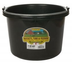 Plastic Bucket, 8Qt (Assorted Colors Available)
