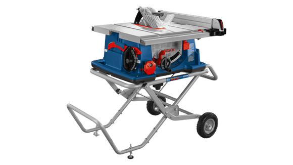 BOSCH 4100XC-10 - 10 In. Worksite Table Saw with Gravity-Rise Wheeled Stand