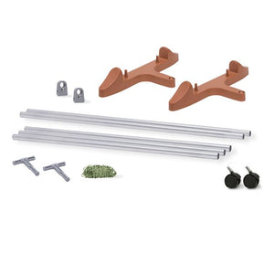 EarthBox Staking Kit for Garden Systems - TERRACOTTA