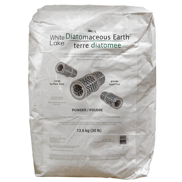 White Lake Diatomaceous Earth - 30lb