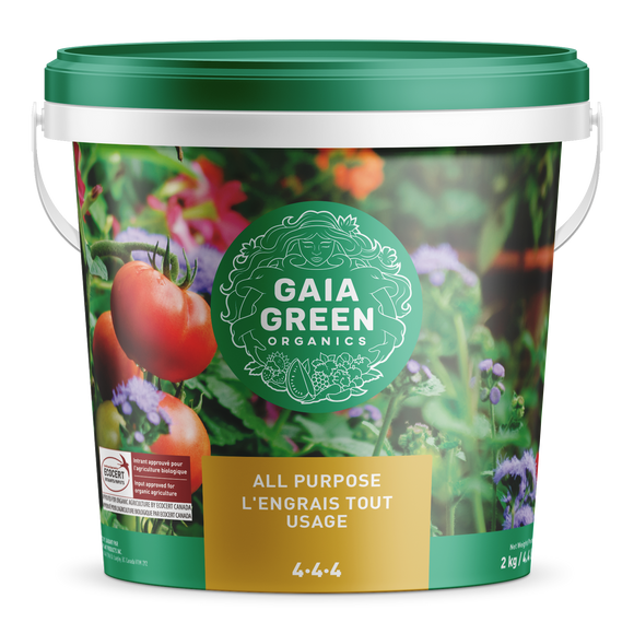Gaia Green All Purpose Fertilizer (4-4-4) 2kg