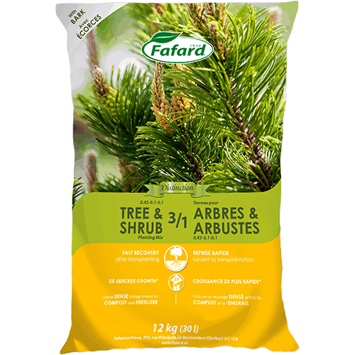 Fafard 3-in-1 Tree and Shrub Soil Mix - 30L