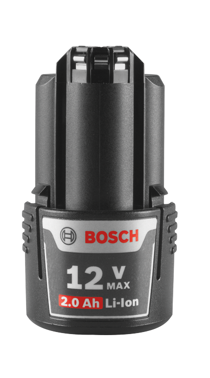 BOSCH BAT414 - 12 V Max Lithium-Ion 2.0 Ah Battery
