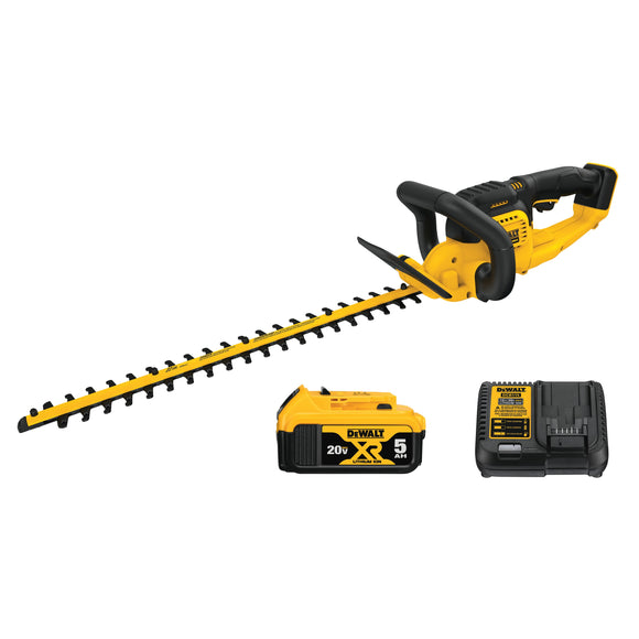 DEWALT DCHT820P1 20V MAX* LITHIUM ION HEDGE TRIMMER (5.0AH)