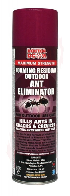 Doktor Doom Supercharged Residual Foam Ant & Ant Nest Killer