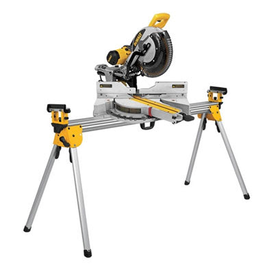 DEWALT DWS780LST 12 Double Bevel Sliding Compound Miter Saw w/Stand