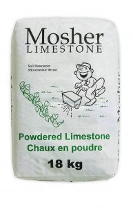 Powdered Lime - 18kg