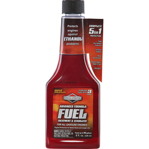Briggs & Stratton Advanced Formula Fuel Treatment and Stabilizer 8oz
