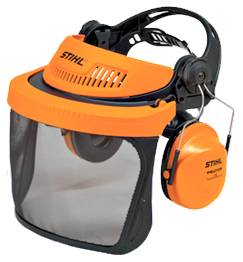 Stihl G500 Face and Hearing Protection - Mesh Visor
