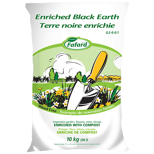 Fafard Enriched Black Earth - 10kg