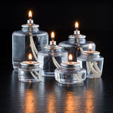 Hollowick Liquid Candles - Sold by the Case - Assorted Sizes Available