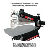 "King Canada 16"" Professional Scroll Saw w/stand"