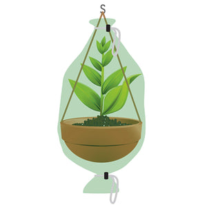 NuVue Hanging Basket Covers