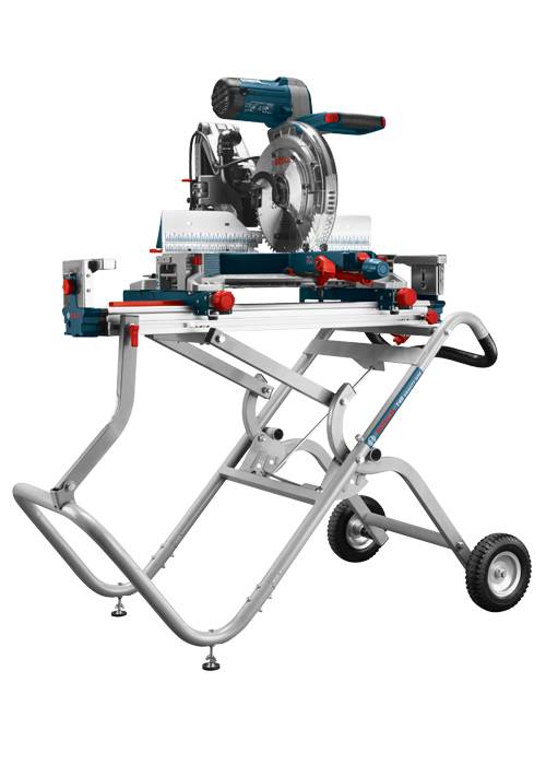 BOSCH T4B Gravity-Rise Miter Saw Stand with Wheels