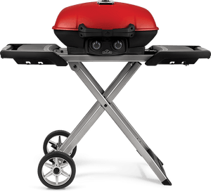 Napoleon Travel Q 285 Propane BBQ Grill with Cart and Griddle