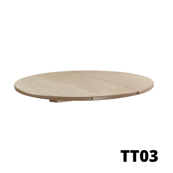 CR Plastics Build-Your-Own-Tables TOPS (Assorted Bases and Table Tops to choose from)