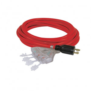 King Canada 25ft Generator Extension Cord with Quad Tap