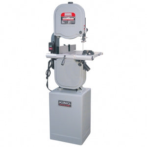 "King Canada 14"" Wood Bandsaw with Resaw Guide"