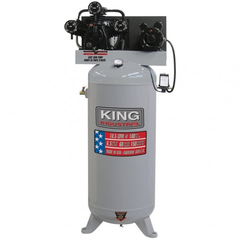 King Canada KC-5160V1 - High Output 60gal Air Compressor