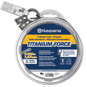 Titanium Force Trimmer Line .105 (Assorted Sizes Available)