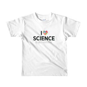 I ♥ Science Shirt (2-6yrs)