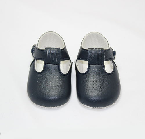 Navy Soft Sole Shoes