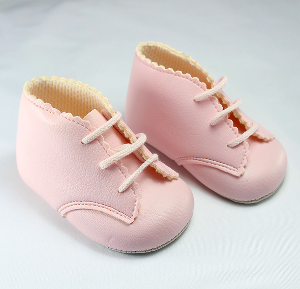 Pink Soft Sole Booties