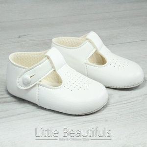 White Soft Sole Shoes