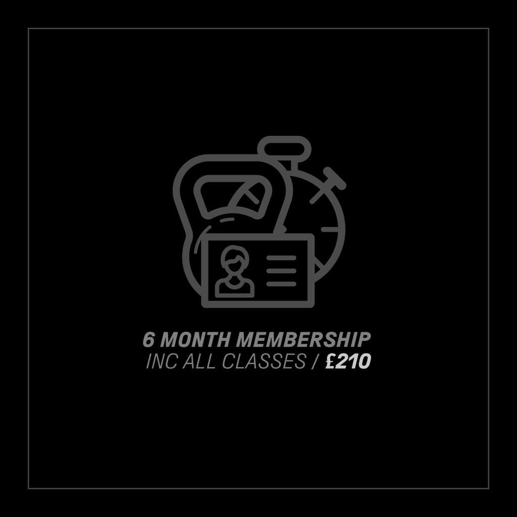 6 Months Gym Membership inc. All Classes