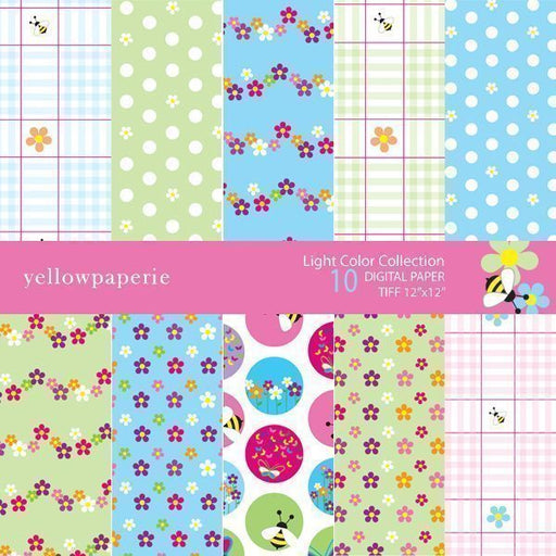 Light Color Collection  Yellowpaperie    Mygrafico