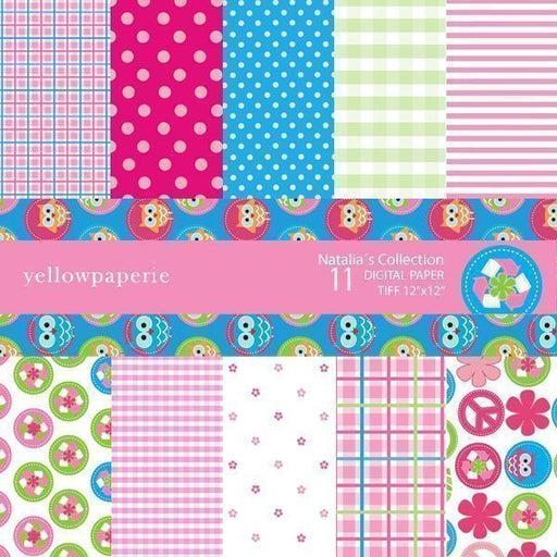 Nathalias Collection  Yellowpaperie    Mygrafico