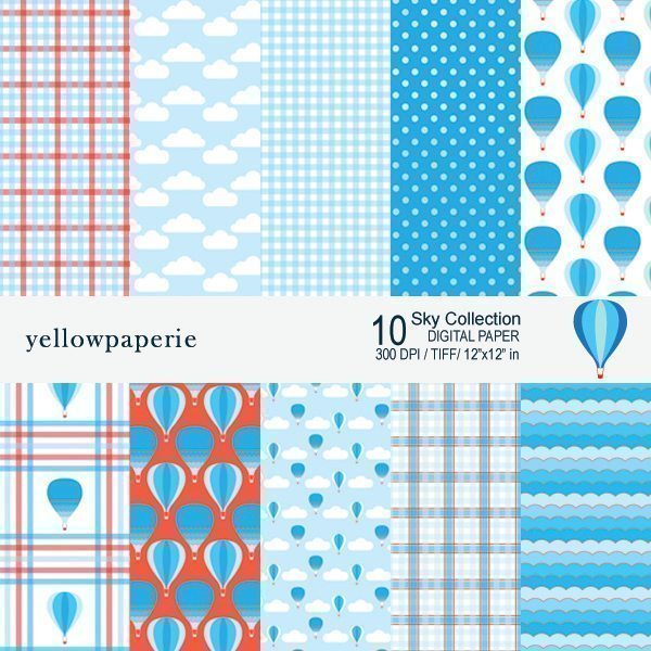 Sky Collection  Yellowpaperie    Mygrafico