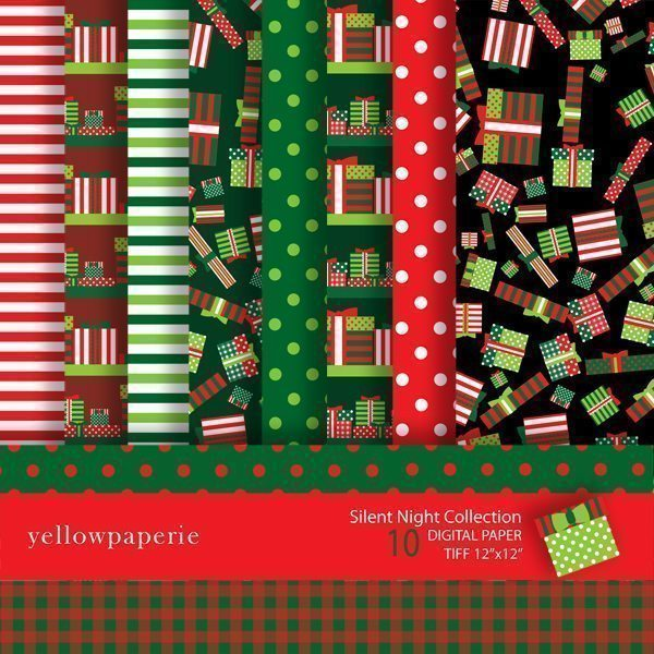 Silent Night Collection  Yellowpaperie    Mygrafico
