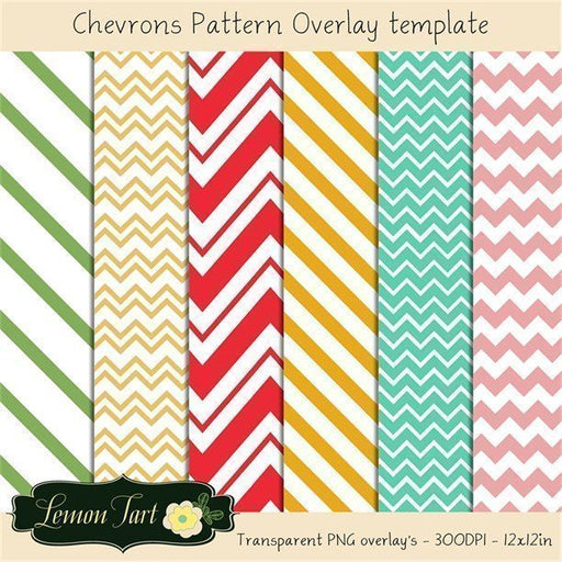 Chevron overlay transparent background  Lemon Tart    Mygrafico