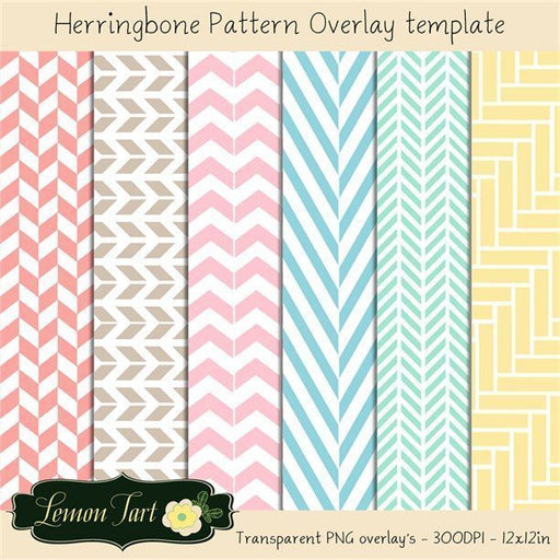 Herringbone overlay transparent background  Lemon Tart    Mygrafico