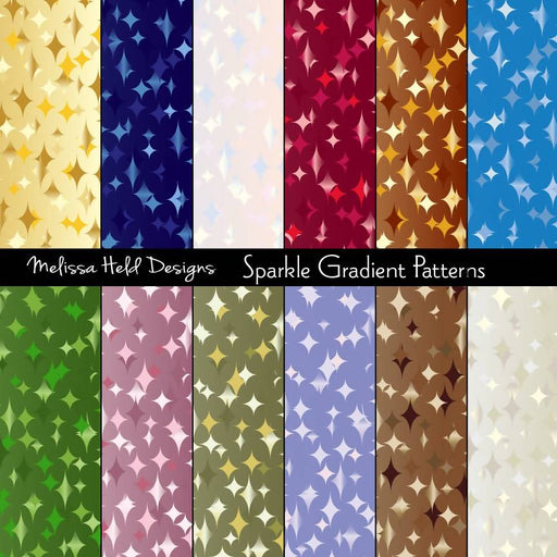 Sparkle Gradient Background Patterns Digital Paper & Backgrounds Melissa Held Designs    Mygrafico
