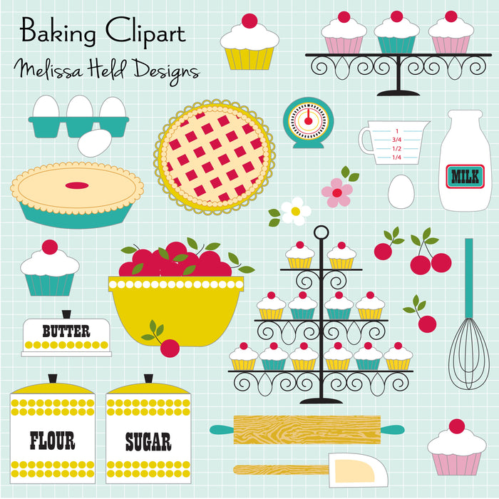Baking Clipart Cliparts Melissa Held Designs    Mygrafico