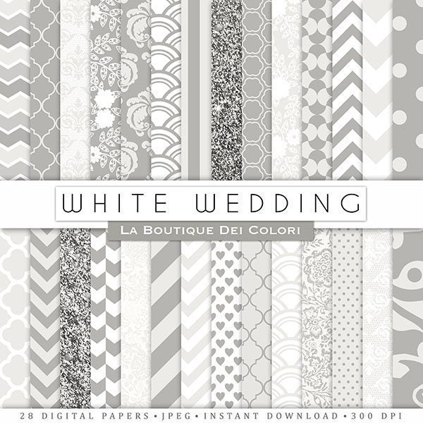 White Digital Papers  La Boutique Dei Colori    Mygrafico
