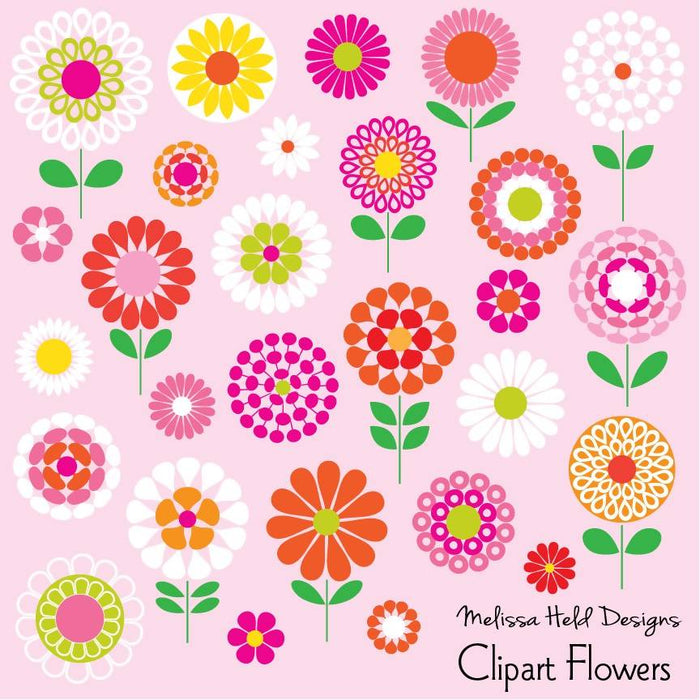 Clipart Flowers Cliparts Melissa Held Designs    Mygrafico