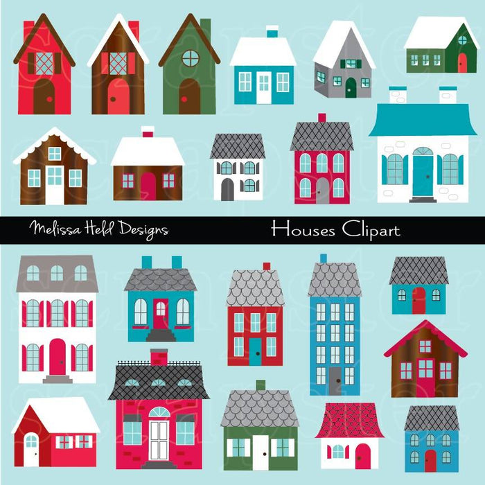 House Clipart Cliparts Melissa Held Designs    Mygrafico