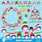 Baby penguin, wreath, tree and more  AMBillustrations    Mygrafico