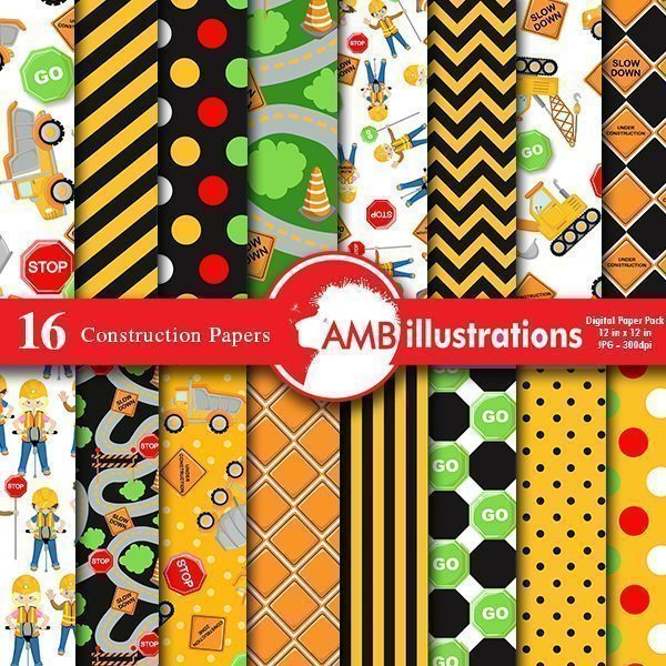 Construction Papers  AMBillustrations    Mygrafico