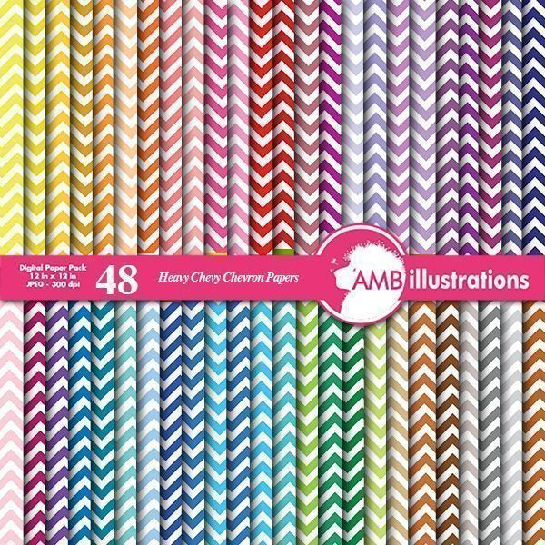 48 Chevron papers digital papers Digital Papers & Backgroundc AMBillustrations    Mygrafico