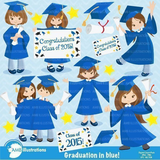 graduation girls  AMBillustrations    Mygrafico