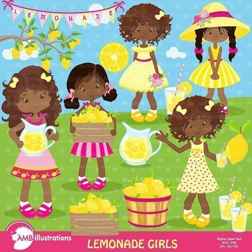 Lemonade stand clipart, Cliparts AMBillustrations    Mygrafico